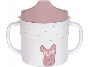 Lässig 4babies Sippy Cup Melamine/Silicone About Friends chinchilla