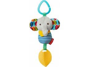 Skip Hop Hračka na C kroužku Bandana Buddies Malý slon 0m+