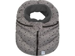 7AM Enfant Cocoon fusak na autosedačku Heather Grey Stars