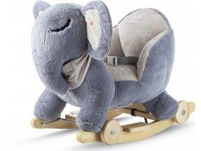 Kinderkraft Houpačka s melodií elephant gray Kinderkraft 2020