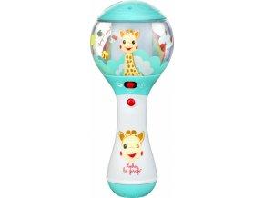 Vulli Elektronické chrastítko žirafa Sophie