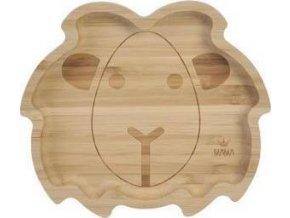 Bambusový talíř Lev