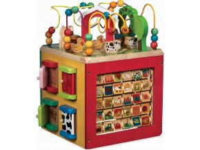 B-Toys Interaktivní krychle Farma