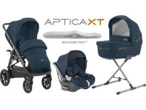 Inglesina Aptica  XT CAB systém 4v1 2020 POLAR Blue