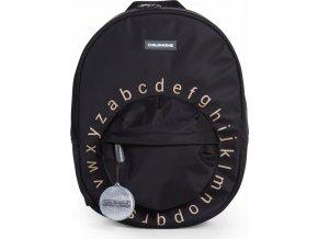 Childhome Dětský batoh Kids School Backpack Black Gold