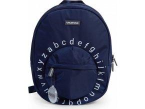 Childhome Dětský batoh Kids School Backpack Navy White