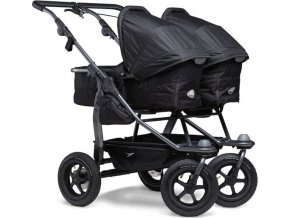 TFK Duo combi push chair - air wheel black