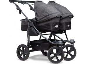TFK Duo combi push chair - air chamber wheel prem. anthracite