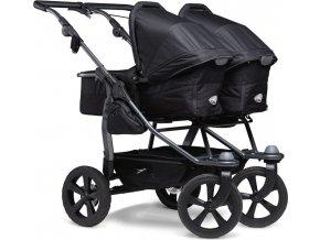 TFK                                                                              Duo combi push chair - air chamber wheel black