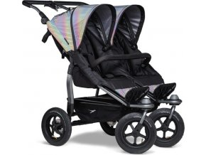 TFK Duo stroller - air wheel glow in the dark