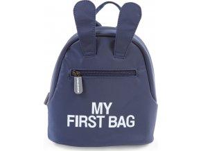 Childhome Dětský batoh My First Bag Navy