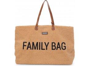 Childhome Cestovní taška Family Bag Teddy Beige