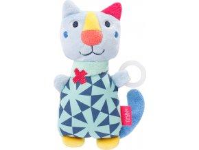 BABY FEHN Plyšová hračka kočka