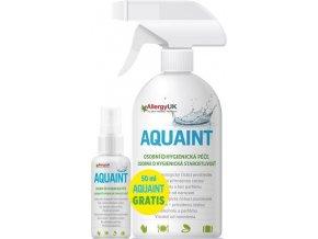 AQUAINT Aquaint 100% ekologická čisticí voda 500 ml+DÁREK Aquaint 50ml