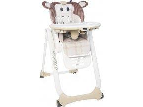 CHICCO CHICCO Židlička jídelní Polly 2 Start - Monkey