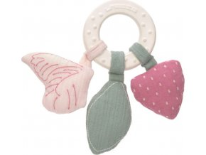 Lässig 4babies                                                                   Teether Ring Natural Rubber butterfly