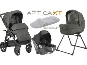 Inglesina Aptica  XT Darwin systém 4v1 2021 Charcoal Grey