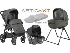 Inglesina Aptica  XT CAB systém 4v1 2021 Charcoal Grey