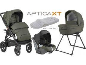 Inglesina Aptica  XT CAB systém 4v1 2021 Sequoia Green