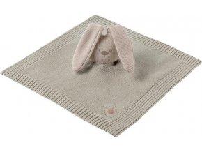 NATTOU Hračka mazlíček pletený bavlněný Lapidou beige 32x32 cm