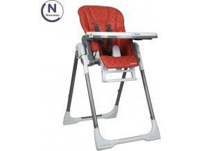 RENOLUX VISION jídelní polohovací židle 2021, Terracotta