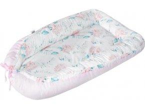 EKO EKO Hnízdo pro miminko bavlněné Hydrangea 90x60cm