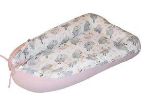 EKO EKO Hnízdo pro miminko bavlněné Chicks 90x60cm