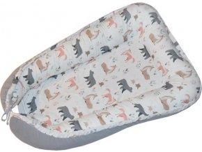 EKO EKO Hnízdo pro miminko bavlněné Roe-Deer 90x60cm
