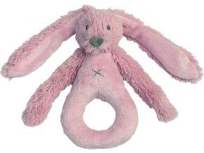 Happy Horse | Chrastítko králíček Richie Old pink Velikost: 18 cm