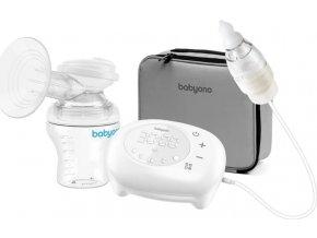 BABYONO BABYONO Elektrická odsávačka Compact 5 režimů a nosní odsávačka