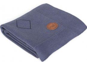 CEBA CEBA Deka pletená v dárkovém balení 90 x 90 granátové rozety