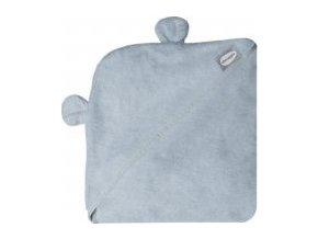 SHNUGGLE Zavinovací osuška s kapucí Grey