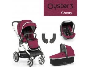 BabyStyle Oyster3 základní set 4 v 1 - Cherry 2022