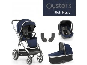 BabyStyle Oyster3 základní set 4 v 1 - Rich Navy 2022