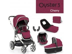 BabyStyle Oyster3 luxusní set 6 v 1 - Cherry 2022