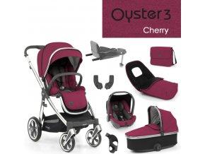 BabyStyle Oyster3 nejlepší set 8 v 1 - Cherry 2022