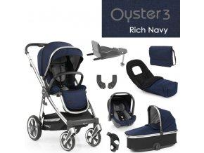 BabyStyle Oyster3 nejlepší set 8 v 1 - Rich Navy 2022