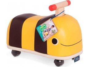 B-Toys Odrážedlo dřevěné Včelka