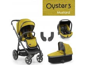 Oyster3 základní set 4 v 1 - Mustard 2022