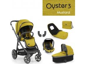 Oyster3 luxusní set 6 v 1 - Mustard 2022