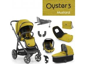 Oyster3 nejlepší set 8 v 1 - Mustard 2022