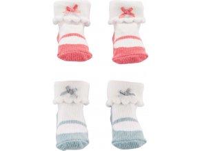 CARTERS CARTER'S Ponožky dívka LBB 2 páry NB
