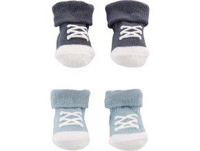 CARTERS CARTER'S Ponožky chlapec LBB 2 páry NB