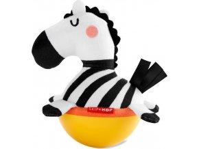 SKIPHOP SKIP HOP Hračka Wobble ABC & ME Zebra se zvukem zvonění 3 m+