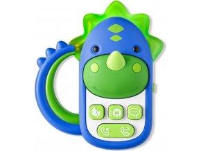 SKIPHOP SKIP HOP Hračka hudební telefon Dinosaurus 6 m+