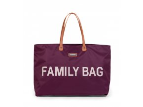 Childhome Cestovní taška Family Bag Aubergine