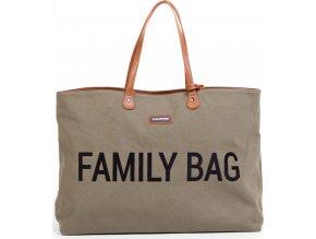Childhome Cestovní taška Family Bag Canvas Khaki