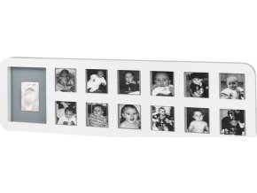 Baby Art Rámeček My First Year Print Frame White / Grey