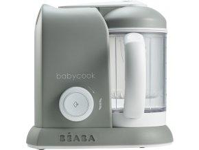 Beaba Parní vařič + mixér BABYCOOK šedý