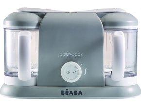Beaba Parní vařič + mixér BABYCOOK PLUS šedý